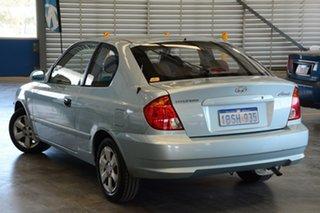 2004 Hyundai Accent LS 1.6 Celadon Blue 4 Speed Automatic Hatchback.