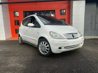 2003 Mercedes-Benz A-Class W168 A160 Elegance White 5 Speed Automatic Hatchback