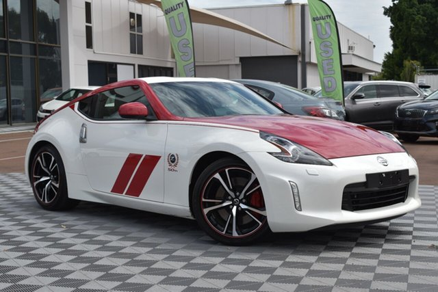 Used Nissan 370Z Z34 MY20 50th Anniversary, 2019 Nissan 370Z Z34 MY20 50th Anniversary White 6 Speed Manual Coupe