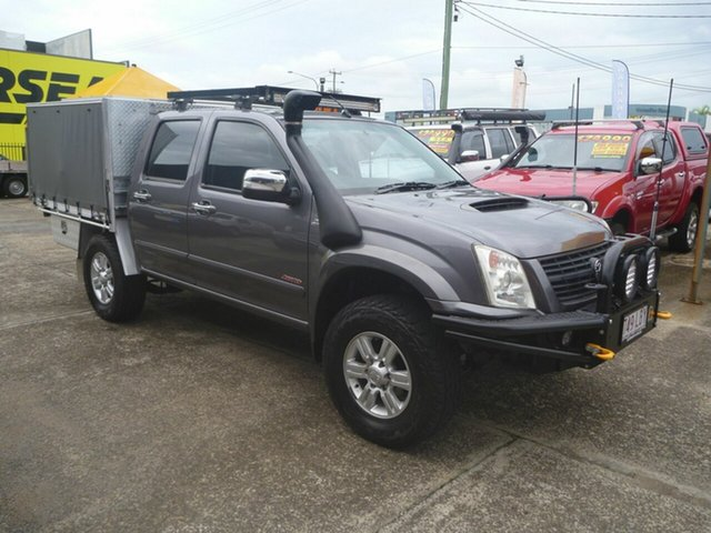 Used Holden Rodeo RA MY08 LT Crew Cab, 2007 Holden Rodeo RA MY08 LT Crew Cab Grey 4 Speed Automatic Utility