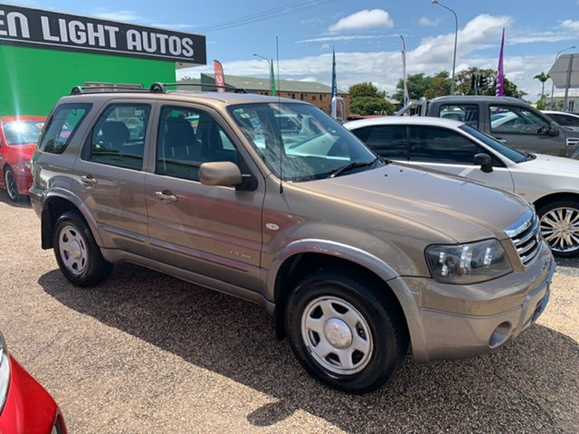 Used Ford Escape ZC XLS, 2007 Ford Escape ZC XLS Gold 5 Speed Automatic Wagon