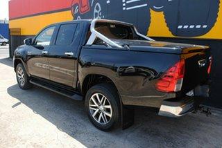 2016 Toyota Hilux GUN126R SR5 Double Cab Eclipse Black 6 Speed Sports Automatic Utility