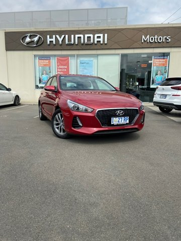 Demo Hyundai i30 PD2 MY19 Active, 2019 Hyundai i30 PD2 MY19 Active Fiery Red 6 Speed Sports Automatic Hatchback