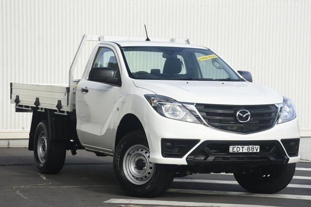 Used Mazda BT-50 UR0YG1 XT 4x2 Hi-Rider, 2019 Mazda BT-50 UR0YG1 XT 4x2 Hi-Rider White 6 Speed Manual Cab Chassis