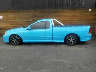 2004 Ford Falcon BA XR6 Turbo Ute Super Cab Blue 4 Speed Sports Automatic Utility