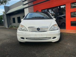 2003 Mercedes-Benz A-Class W168 A160 Elegance White 5 Speed Automatic Hatchback.