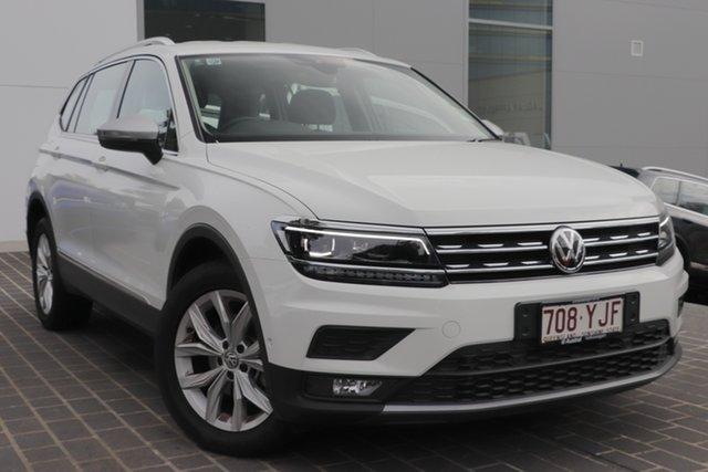 Used Volkswagen Tiguan 5N MY18 110TDI Comfortline DSG 4MOTION Allspace, 2018 Volkswagen Tiguan 5N MY18 110TDI Comfortline DSG 4MOTION Allspace White 7 Speed