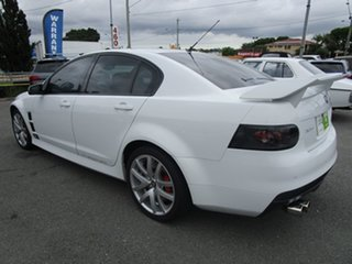 2007 Holden Special Vehicles ClubSport E Series R8 White 6 Speed Manual Sedan.
