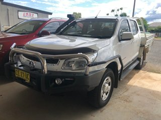 2015 Holden Colorado RG MY16 LS (4x4) Summit White 6 Speed Manual Cab Chassis