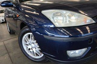 2003 Ford Focus LR LX Slate Blue 4 Speed Automatic Hatchback.
