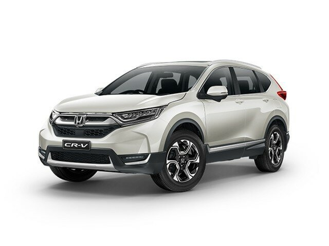 Demo Honda CR-V RW MY20 VTi-LX 4WD, 2019 Honda CR-V RW MY20 VTi-LX 4WD Platinum White 1 Speed Constant Variable Wagon