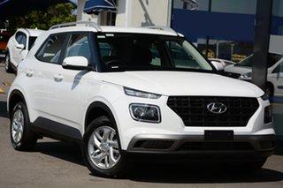 2020 Hyundai Venue QX.2 MY20 Active Polar White 6 Speed Automatic Wagon.