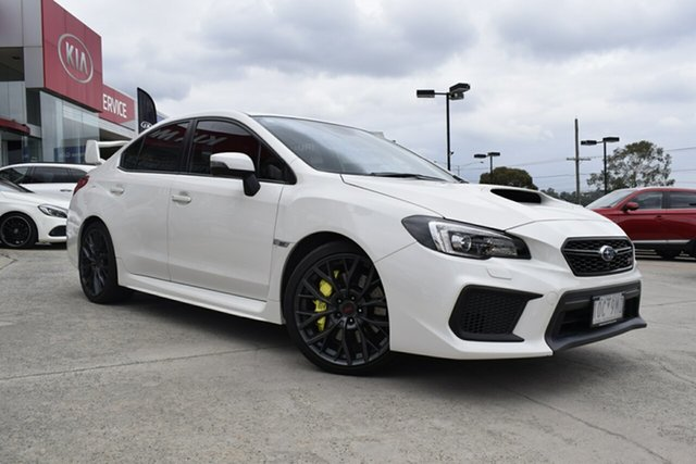 Used Subaru WRX V1 MY18 STI AWD spec.R, 2018 Subaru WRX V1 MY18 STI AWD spec.R White 6 Speed Manual Sedan