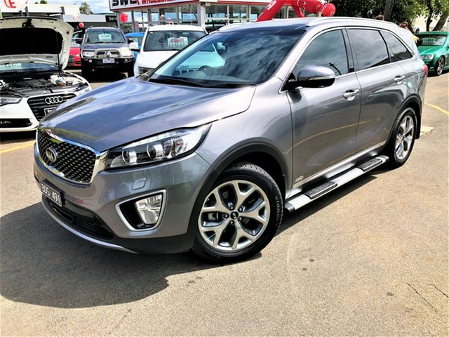 Used Kia Sorento UM MY16 Platinum AWD, 2015 Kia Sorento UM MY16 Platinum AWD Grey 6 Speed Sports Automatic Wagon