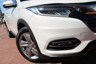 2019 Honda HR-V MY20 VTi-S Taffeta White 1 Speed Constant Variable Hatchback.