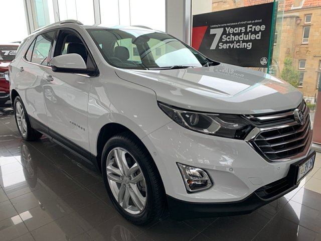 Demo Holden Equinox EQ MY18 LTZ AWD, 2018 Holden Equinox EQ MY18 LTZ AWD Summit White 9 Speed Sports Automatic Wagon