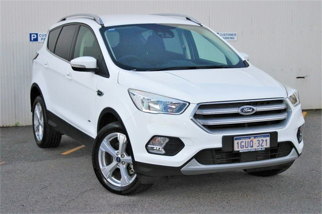 Used Ford Escape ZG 2018.00MY Trend PwrShift AWD, 2017 Ford Escape ZG 2018.00MY Trend PwrShift AWD White 6 Speed Sports Automatic Dual Clutch Wagon