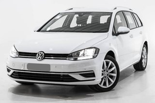 2019 Volkswagen Golf 7.5 MY19.5 110TSI DSG Comfortline White 7 Speed Sports Automatic Dual Clutch.