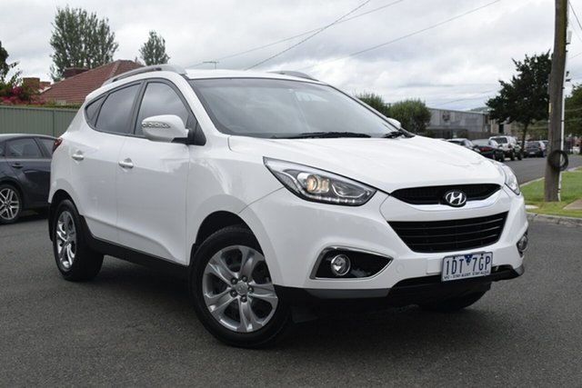Used Hyundai ix35 LM3 MY15 Active, 2015 Hyundai ix35 LM3 MY15 Active Pure White 6 Speed Sports Automatic Wagon