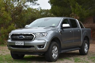 2019 Ford Ranger PX MkIII 2019.75MY XLT Pick-up Double Cab Silver 6 Speed Sports Automatic Utility