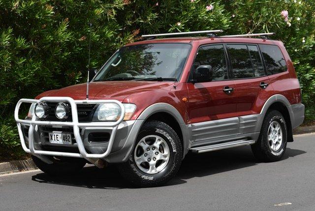 Used Mitsubishi Pajero NM MY2002 GLS, 2002 Mitsubishi Pajero NM MY2002 GLS Red 5 Speed Sports Automatic Wagon