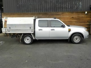 2009 Ford Ranger PK XL Crew Cab 4x2 Silver 5 Speed Automatic Utility.