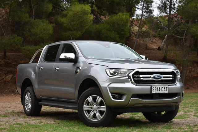 Used Ford Ranger PX MkIII 2019.75MY XLT Pick-up Double Cab, 2019 Ford Ranger PX MkIII 2019.75MY XLT Pick-up Double Cab Silver 6 Speed Sports Automatic Utility