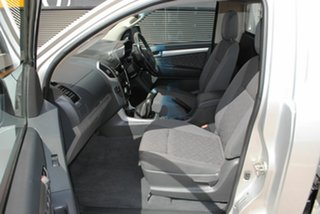2012 Holden Colorado RG MY13 LX Silver Ash 5 Speed Manual Cab Chassis