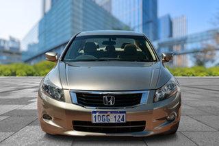 2009 Honda Accord 8th Gen VTi-L Beige 5 Speed Sports Automatic Sedan