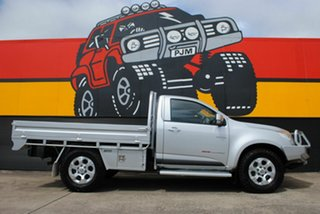 2012 Holden Colorado RG MY13 LX Silver Ash 5 Speed Manual Cab Chassis.