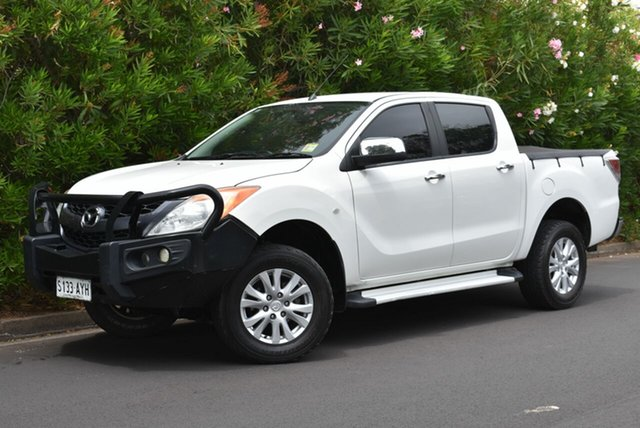 Used Mazda BT-50 UP0YF1 XTR, 2013 Mazda BT-50 UP0YF1 XTR White 6 Speed Sports Automatic Utility