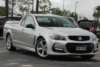 2016 Holden Ute VF II MY16 SS Ute Black Silver 6 Speed Sports Automatic Utility.