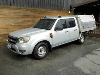 2009 Ford Ranger PK XL Crew Cab 4x2 Silver 5 Speed Automatic Utility