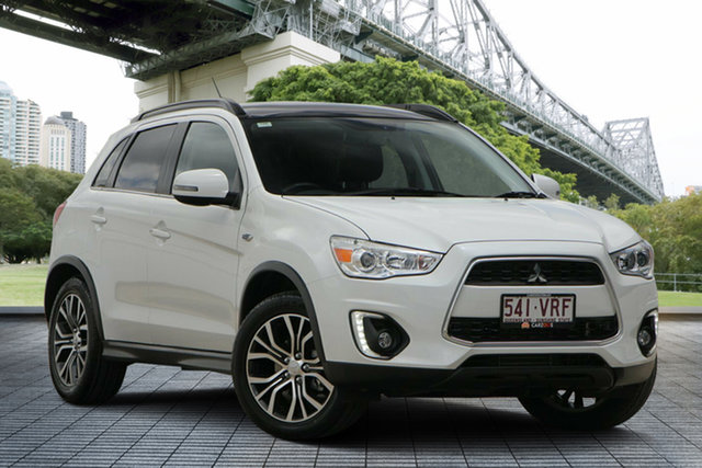 Used Mitsubishi ASX XB MY15.5 XLS, 2015 Mitsubishi ASX XB MY15.5 XLS White 6 Speed Sports Automatic Wagon