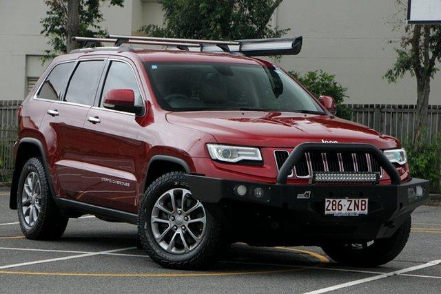 Used Jeep Grand Cherokee WK MY2014 Limited, 2014 Jeep Grand Cherokee WK MY2014 Limited Red 8 Speed Sports Automatic Wagon