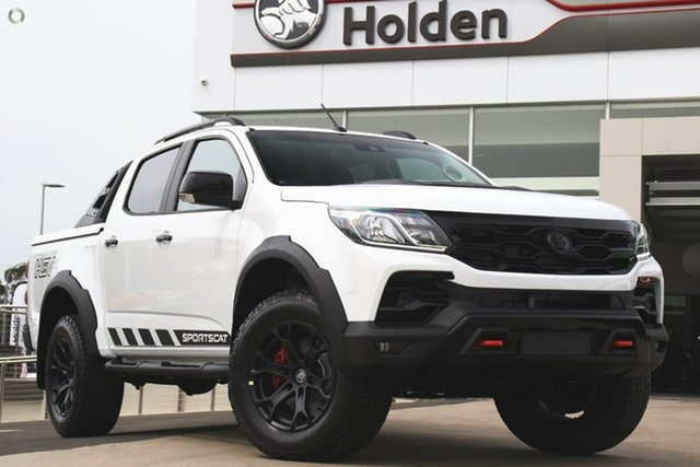New Holden Special Vehicles Colorado RG MY20 SportsCat Pickup Crew Cab SV, 2019 Holden Special Vehicles Colorado RG MY20 SportsCat Pickup Crew Cab SV Summit White 6 Speed