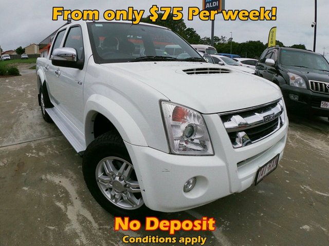 Used Isuzu D-MAX TF LS 4x2, 2011 Isuzu D-MAX TF LS 4x2 White 4 Speed Automatic Dual Cab