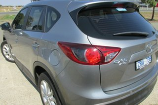 2012 Mazda CX-5 KE1021 Grand Touring SKYACTIV-Drive AWD Silver 6 Speed Sports Automatic Wagon