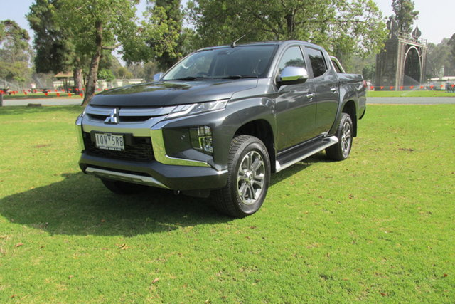 Demo Mitsubishi Triton MR MY19 GLS Double Cab, 2018 Mitsubishi Triton MR MY19 GLS Double Cab Grey 6 Speed Sports Automatic Utility