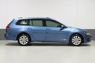 2014 Volkswagen Golf AU MY15 90 TSI Comfortline Blue 7 Speed Auto Direct Shift Wagon