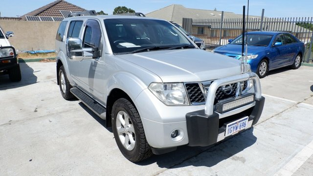 Used Nissan Pathfinder R51 MY08 ST, 2008 Nissan Pathfinder R51 MY08 ST Silver 5 Speed Sports Automatic Wagon