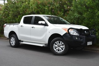 2013 Mazda BT-50 UP0YF1 XTR White 6 Speed Sports Automatic Utility