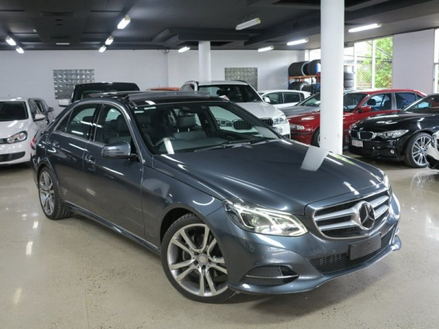 Used Mercedes-Benz E-Class W212 MY14 E300 BlueTEC Hybrid 7G-Tronic +, 2014 Mercedes-Benz E-Class W212 MY14 E300 BlueTEC Hybrid 7G-Tronic + Grey 7 Speed Sports Automatic