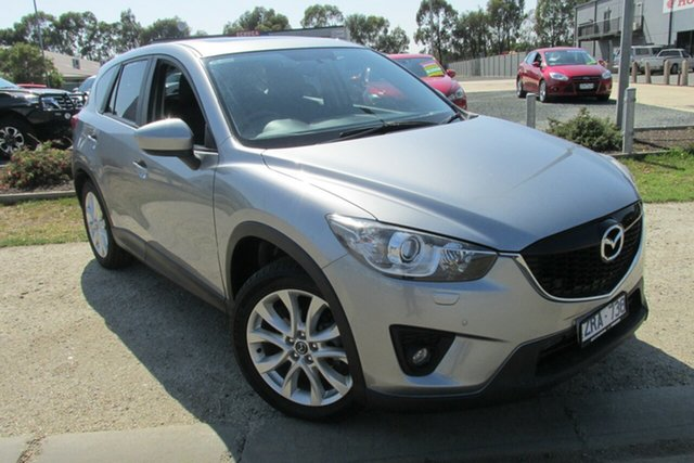 Used Mazda CX-5 KE1021 Grand Touring SKYACTIV-Drive AWD, 2012 Mazda CX-5 KE1021 Grand Touring SKYACTIV-Drive AWD Silver 6 Speed Sports Automatic Wagon