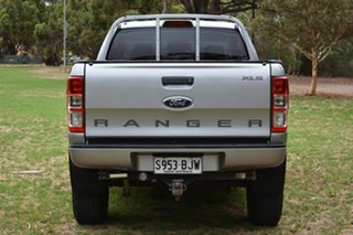 2015 Ford Ranger PX MkII XLS Double Cab Silver 6 Speed Sports Automatic Utility
