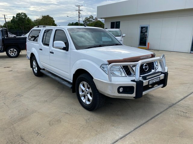 Used Nissan Navara D40 S6 MY12 ST, 2013 Nissan Navara D40 S6 MY12 ST White 5 Speed Sports Automatic Utility