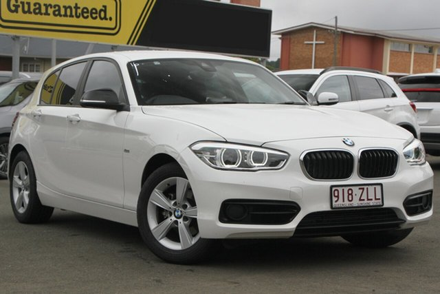 Used BMW 1 Series F20 LCI-2 118d Steptronic Sport Line, 2018 BMW 1 Series F20 LCI-2 118d Steptronic Sport Line White 8 Speed Sports Automatic Hatchback