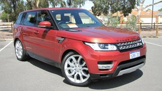 2014 Land Rover Range Rover Sport L494 MY14.5 SDV6 HSE Red 8 Speed Sports Automatic Wagon.