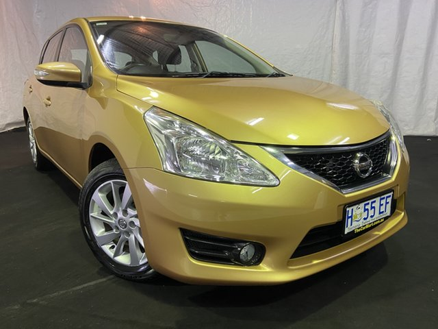 Used Nissan Pulsar C12 Series 2 ST-L, 2015 Nissan Pulsar C12 Series 2 ST-L Gold 6 Speed Manual Hatchback