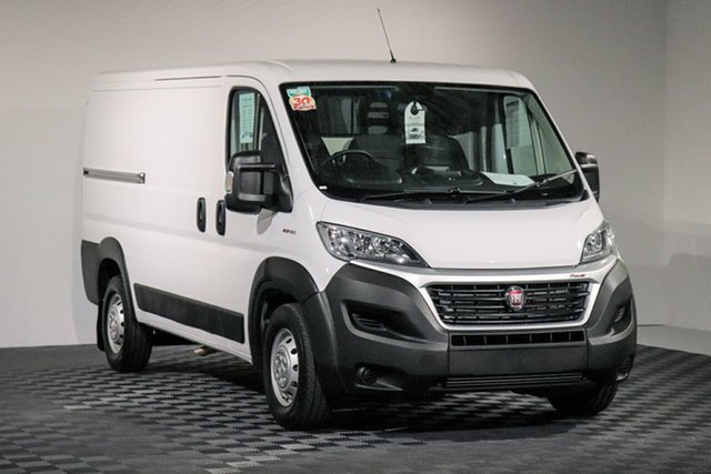 Demo Fiat Ducato Series 6 Low Roof MWB Comfort-matic, 2019 Fiat Ducato Series 6 Low Roof MWB Comfort-matic White 6 speed Automatic Van